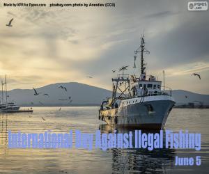 Rompicapo di Giornata internazionale per la lotta contro la pesca illegale