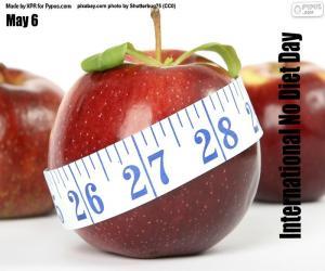 Rompicapo di Giornata internazionale senza diete