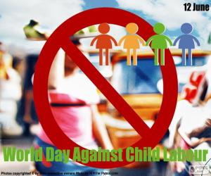 Rompicapo di Giornata mondiale contro il lavoro minorile