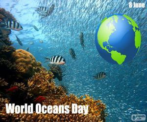 Rompicapo di Giornata mondiale degli oceani