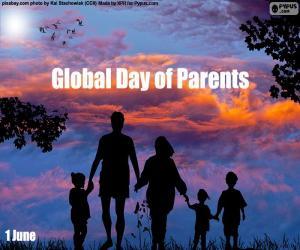 Rompicapo di Giornata mondiale dei genitori