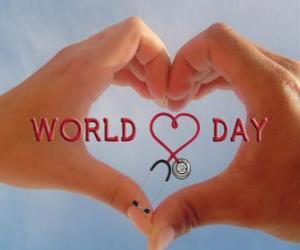 Rompicapo di Giornata Mondiale del Cuore, l'ultima Domenica di Settembre si organizzano attività per migliorare la salute e ridurre i rischi