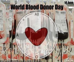 Rompicapo di Giornata mondiale del donatore di sangue