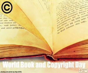 Rompicapo di Giornata mondiale del libro e del diritto d'autore