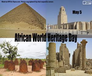 Rompicapo di Giornata mondiale del patrimonio africano