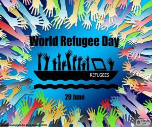 Rompicapo di Giornata mondiale del rifugiato