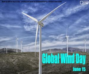 Rompicapo di Giornata mondiale del vento