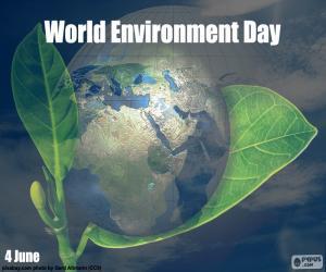 Rompicapo di Giornata mondiale dell'ambiente