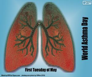 Rompicapo di Giornata mondiale dell'asma