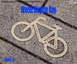 Rompicapo di Giornata mondiale della bicicletta