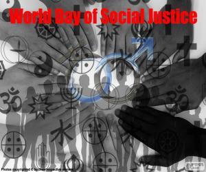 Rompicapo di Giornata mondiale della giustizia sociale