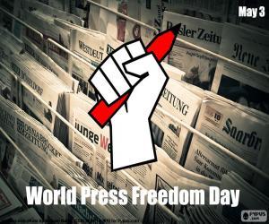 Rompicapo di Giornata mondiale della libertà di stampa