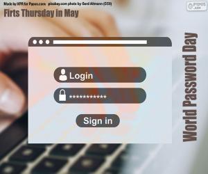 Rompicapo di Giornata mondiale delle password