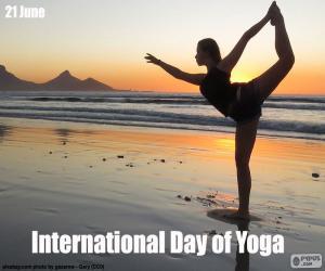 Rompicapo di Giornata Mondiale dello Yoga
