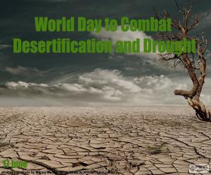 Rompicapo di Giornata mondiale di lotta contro la desertificazione