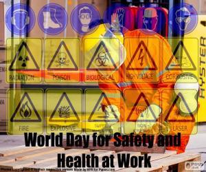 Rompicapo di Giornata mondiale per la sicurezza e la salute sul lavoro