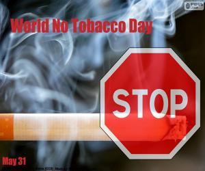 Rompicapo di Giornata mondiale senza tabacco