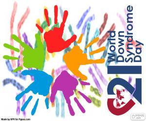 Rompicapo di Giornata mondiale sindrome di Down