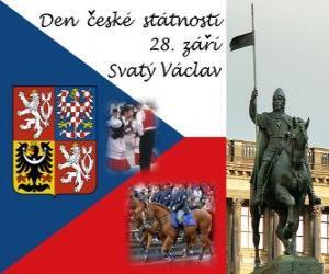 Rompicapo di Giornata Nazionale Ceco. 28 settembre San Venceslao, patrono della Repubblica Ceca