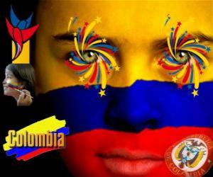Rompicapo di Giorno dell'indipendenza della Colombia commemora il 20 Luglio di 1810