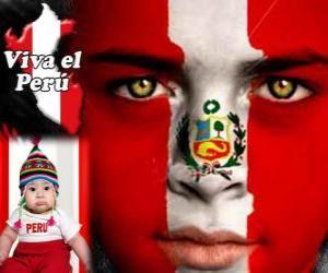 Rompicapo di Giorno dell'Indipendenza del Perù, 28 luglio. Si commemora la dichiarazione di indipendenza dalla Spagna nel 1821