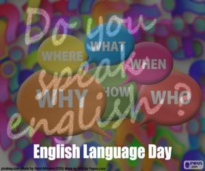 Rompicapo di Giorno di lingua inglese