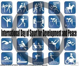 Rompicapo di Giorno internazionale di sport per lo sviluppo e la pace