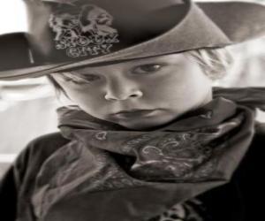 Rompicapo di Giovane Cowboy
