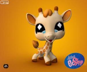 Rompicapo di Giraffa da PetShop Littlest