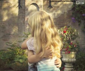 Rompicapo di Gli amici abbraccio