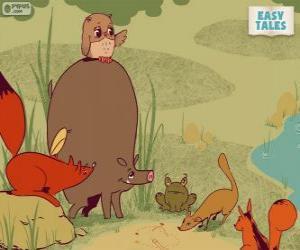 Rompicapo di Gli animali della foresta decidono il percorso di carriera