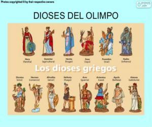 Rompicapo di Gli dei greci