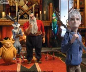 Rompicapo di Gli Guardiani immortale uniscono le forze per proteggere i desideri, le credenze e immaginazione dei bambini