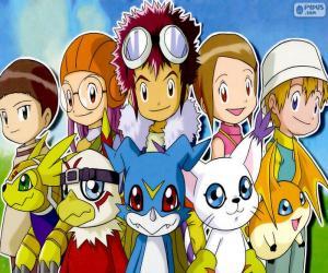 Rompicapo di Gli protagonisti de Digimon