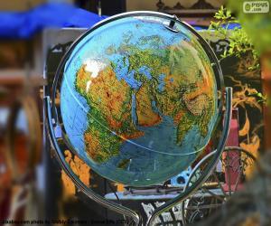 Rompicapo di Globo terrestre