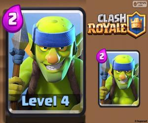 Rompicapo di Goblin lancieri Clash Royal