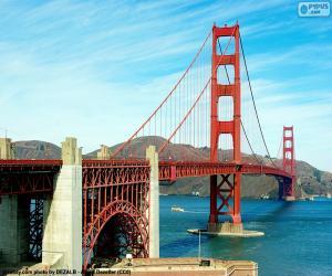Rompicapo di Golden Gate Bridge, USA