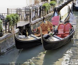 Rompicapo di Gondole di Venezia