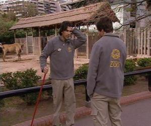 Rompicapo di Gonzalo  vede Leandro allo zoo