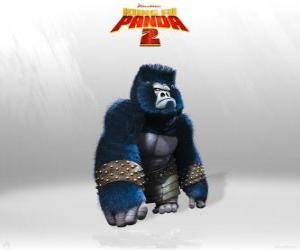 Rompicapo di Gorilla sono il muscolo nell'esercito del Lord Shen