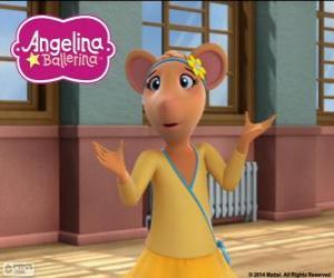 Rompicapo di Gracie, personaggio di Angelina Ballerina