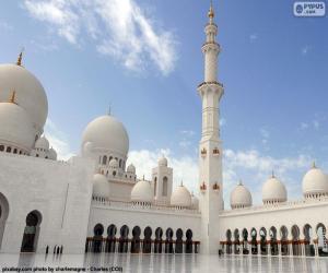Rompicapo di Gran Moschea dello Sceicco Zayed, Abu Dhabi