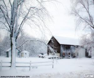 Rompicapo di Granaio in inverno