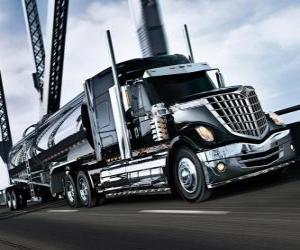 Rompicapo di Grande camion nero