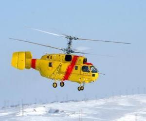 Rompicapo di Grande elicotteri Kamov Ka-32A11BC