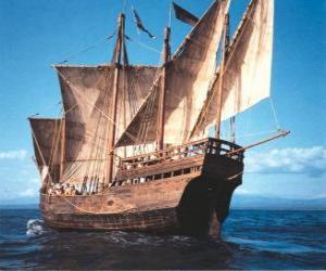 Rompicapo di Grande nave pirata