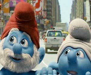 Rompicapo di Grande Puffo e Tontolone, le strade di Manhattan. - I Puffi, film -