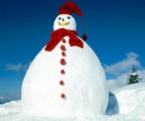 Rompicapo di Grande pupazzo di neve
