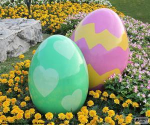 Rompicapo di Grandi uova di Pasqua
