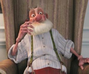 Rompicapo di Grandsanta, il vecchio padre irascibile di Santa che odia il mondo moderno